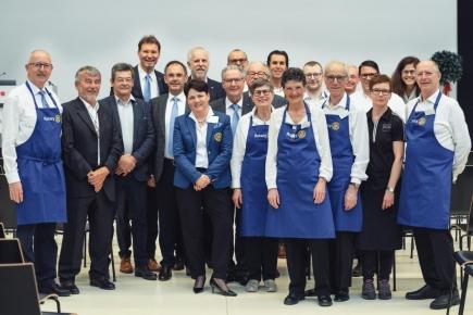 Motiviertes Team des RC Liechtenstein-Eschnerberg