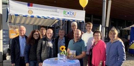 ROKJ-Team am Eschner Jahrmarkt