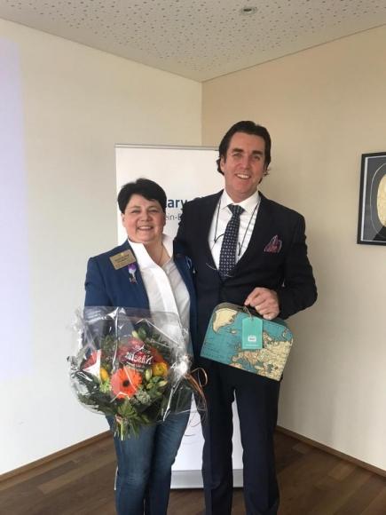 Governorbesuch mit Magdalena Frommelt